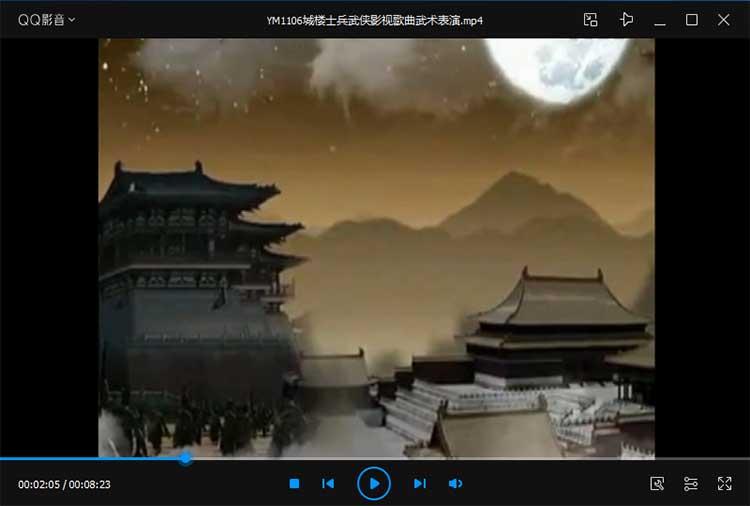 9款中国武术特效合成视频背景素材免费下载