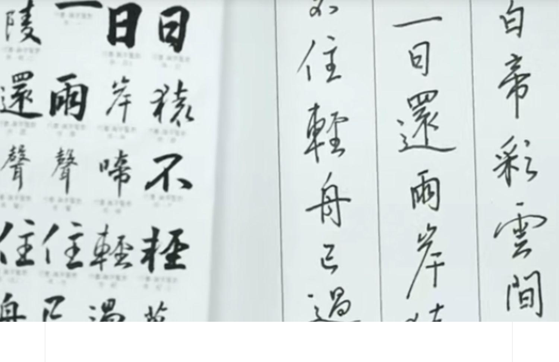 中国汉字硬笔书法视频教程集陈忠建行书入门技巧讲解示范自学教材 教育培训 第4张