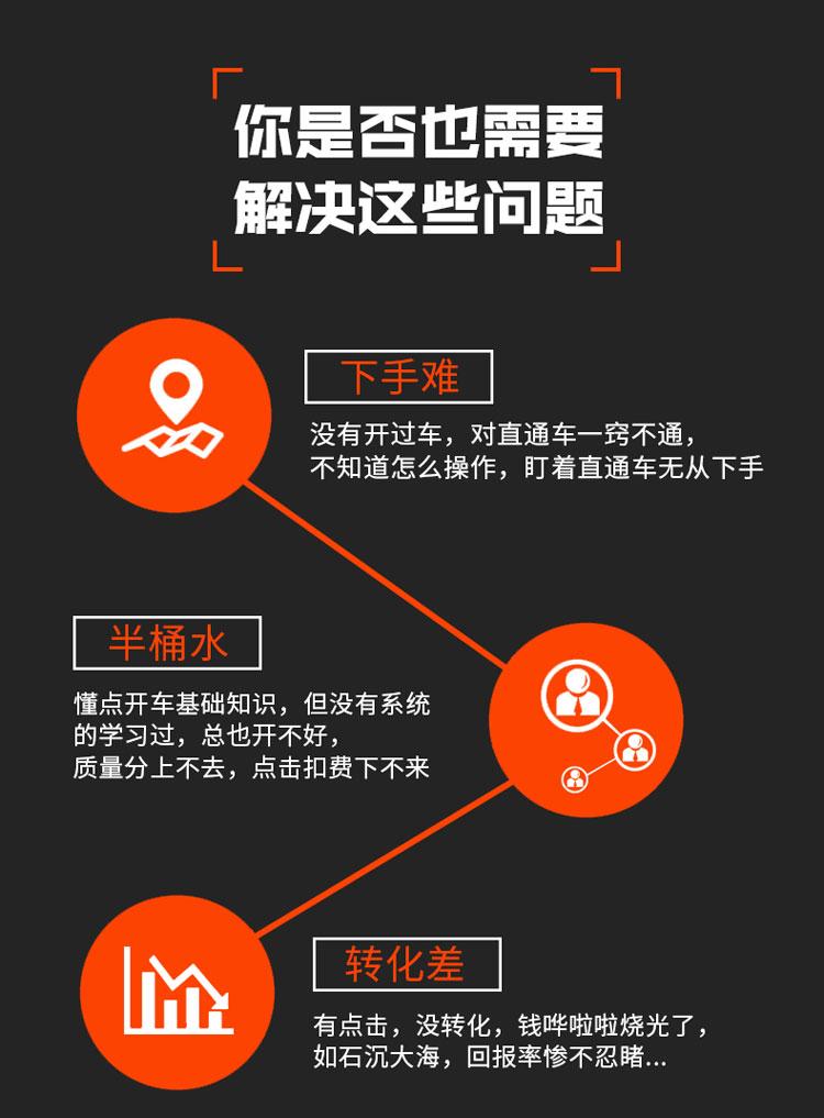 2019年新版直通车教程视频特训 淘宝怎么推广优化运营视频教程