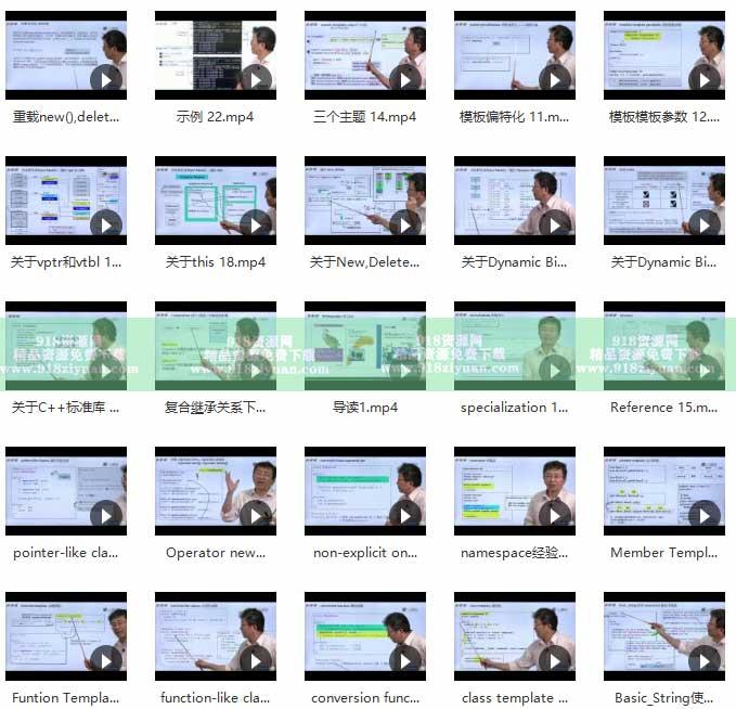 c++系统工程师系列视频教程C++面向对象高级开发设计模式 程序开发 第2张