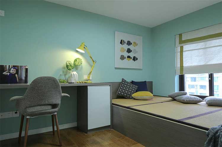 140张榻榻米装修设计效果图现代日式风格卧室儿童房室内参考图片 装修效果图 第5张