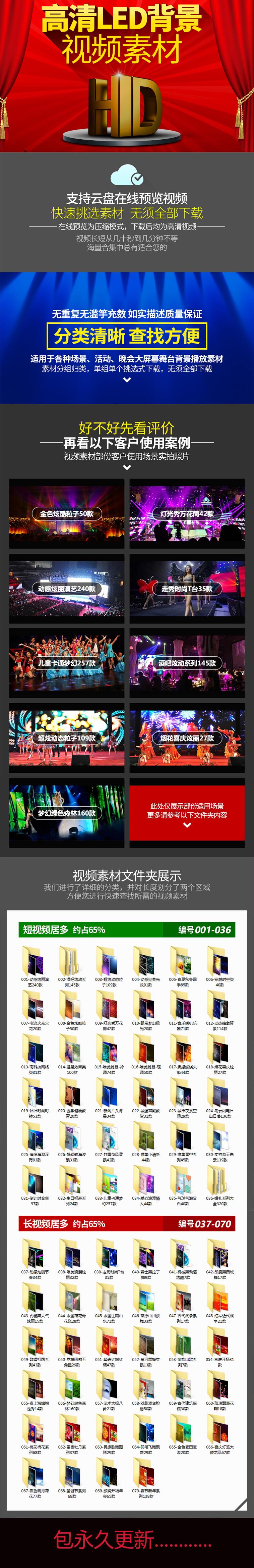 led大屏幕背景高清视频素材片头婚礼动感炫酷舞台晚会演出舞蹈